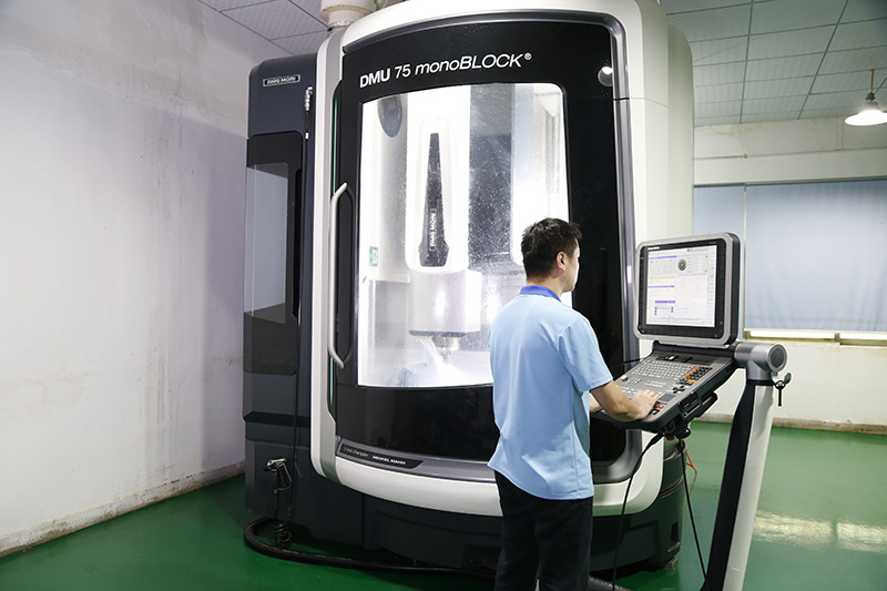 Five-axis machining